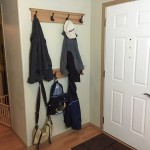 Coat Rack at Entry