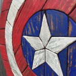 Detail Shot - Captain America